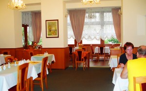 ресторан в отеле Modena 3*, Карловы Вары, Чехия