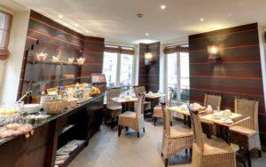 ресторан в отеле Pavillion Opera Bourse 3*, Париж, Франция