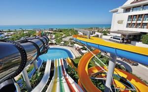 аквапарк в отеле Sherwood Dreams Resort 5*, Белек, Турция