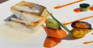 блюдо в ресторане Le Belvedere