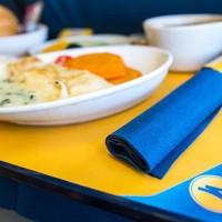МАУ разнообразила питание на борту