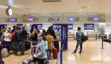 Онлайн-регистрация на авиарейсы Ryanair: плати или поспеши!