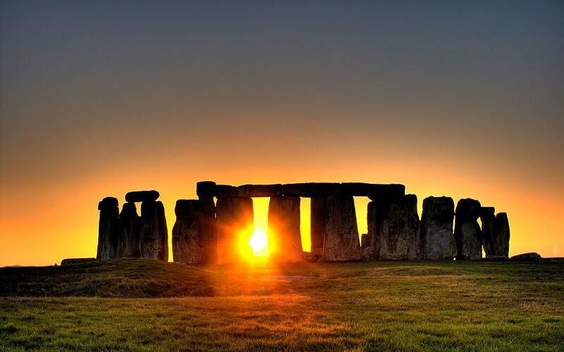 Stonehenge модель солнечной системы