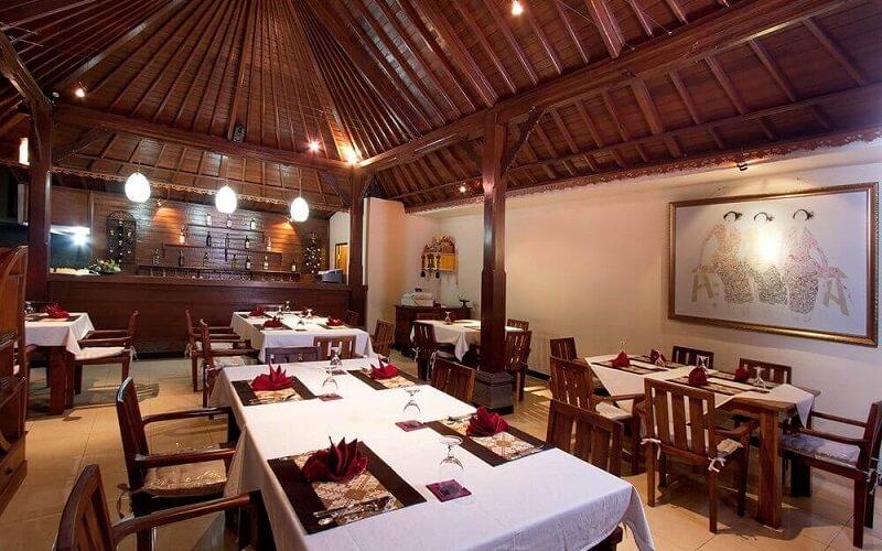 ресторан в отеле Agung Raka Bungalows 3*, Индонезия, Убуд (о. Бали)