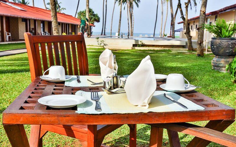 ресторан в Amagi Beach Hotel 3*, Маравила, Шри-Ланка