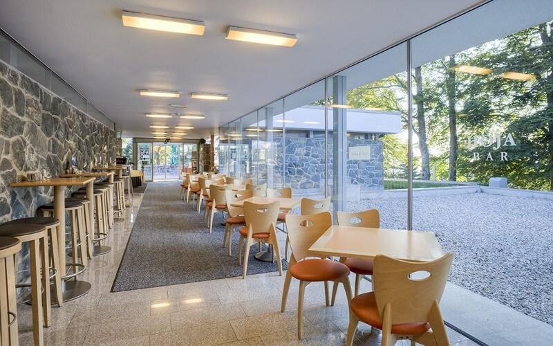 ресторан в Bellevue Hotel 4*, Мариборське Похор'є, Словенія