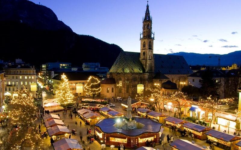 Рождественская ярмарка Италия, Больцань