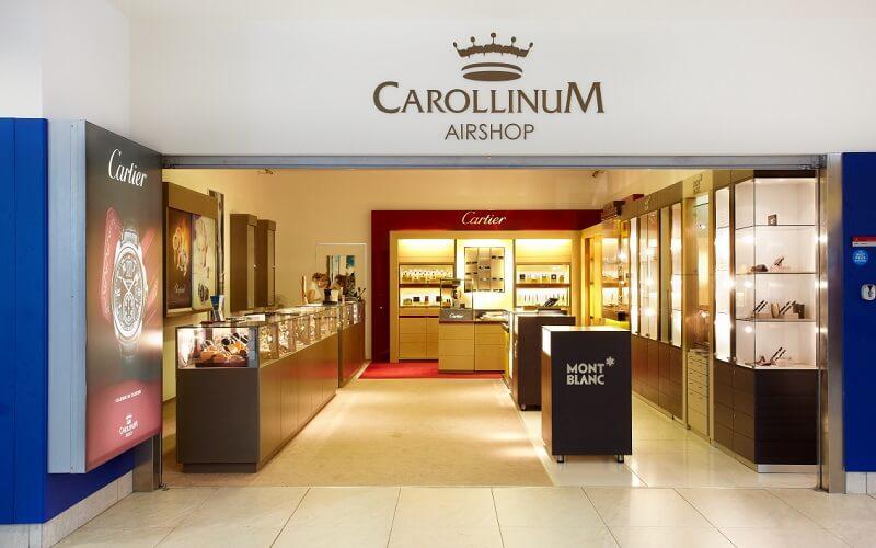 бутик Carollinum в Праге