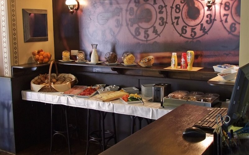 питание в City Hotel Ring 3*, Будапешт, Венгрия