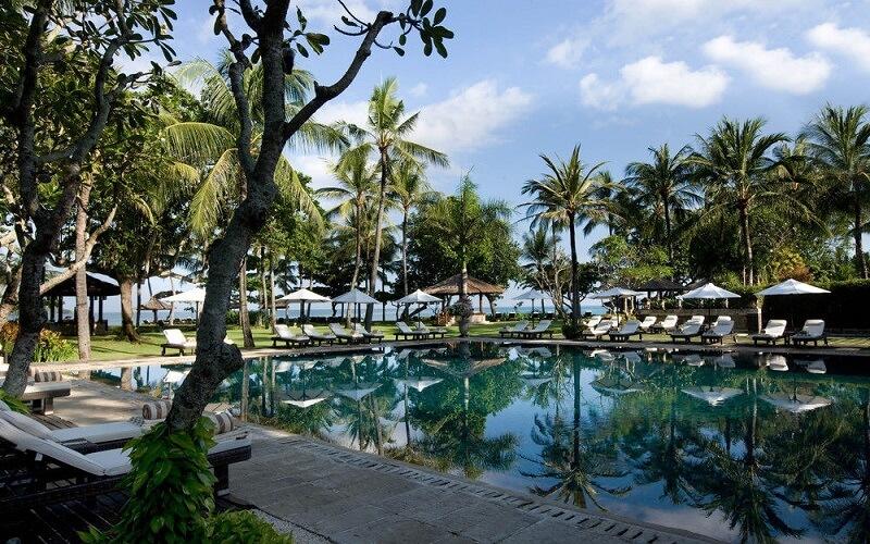 бассейн в отеле Grand Mirage 4*, Индонезия, Танджунг Беноа (о. Бали)
