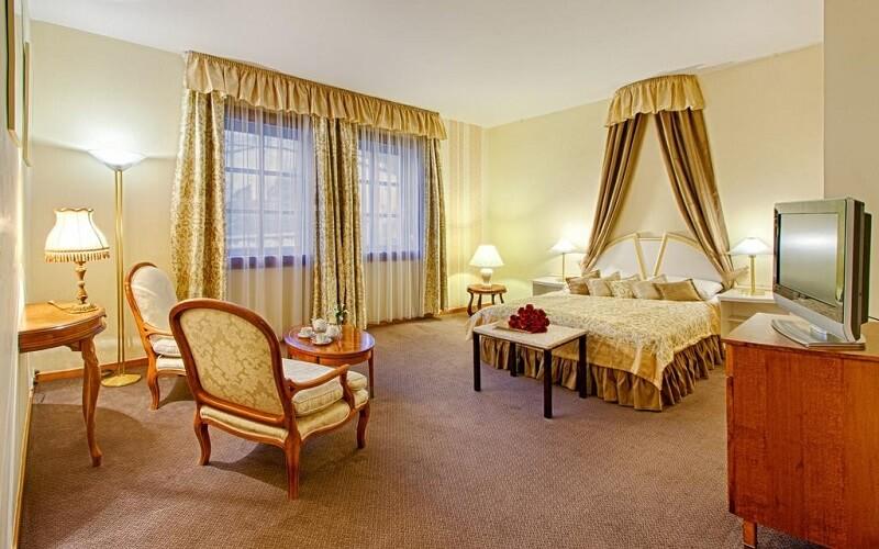 номер в отеле Hoffmeister & Spa 5*, Прага