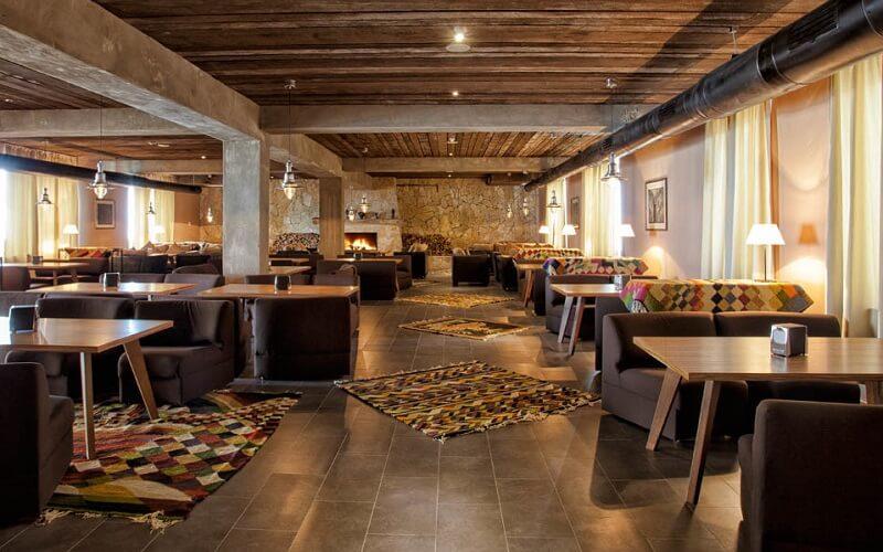 ресторан в Alpina Hotel 3*, Гудаурі, Грузія
