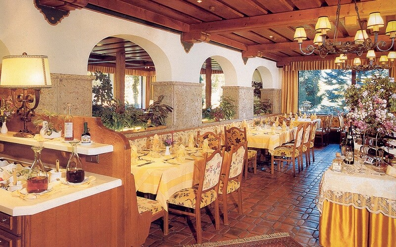 ресторан в отеле Haas 4*, Бад Гаштайн, Австрия