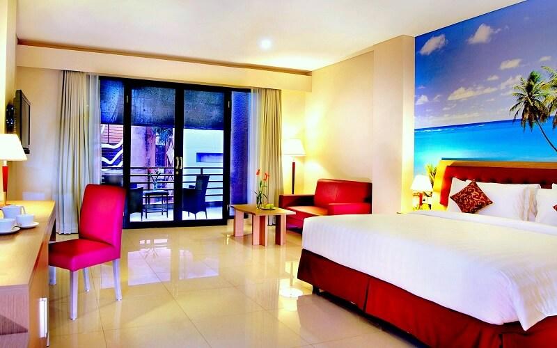 номер в отеле Kuta Central Park Hotel 4*, Индонезия, Кута (о. Бали)