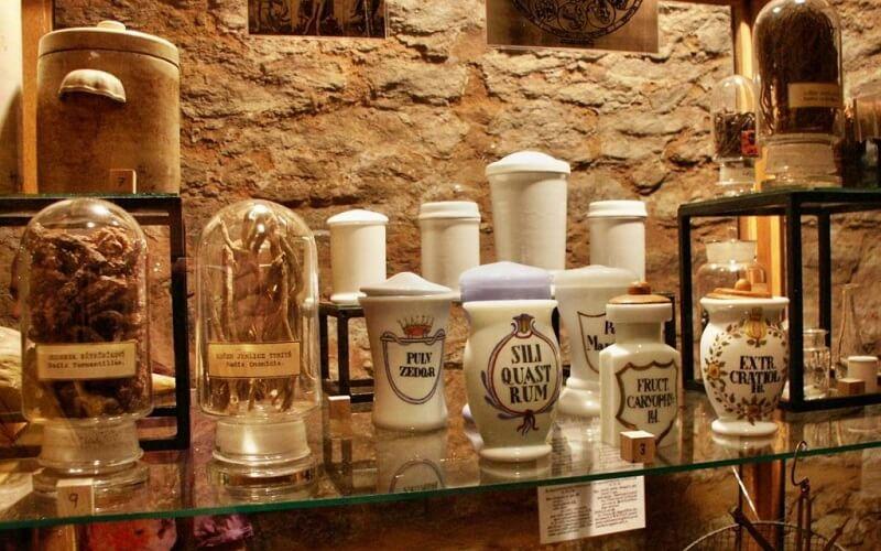 музей алхимии и магии в Праге
