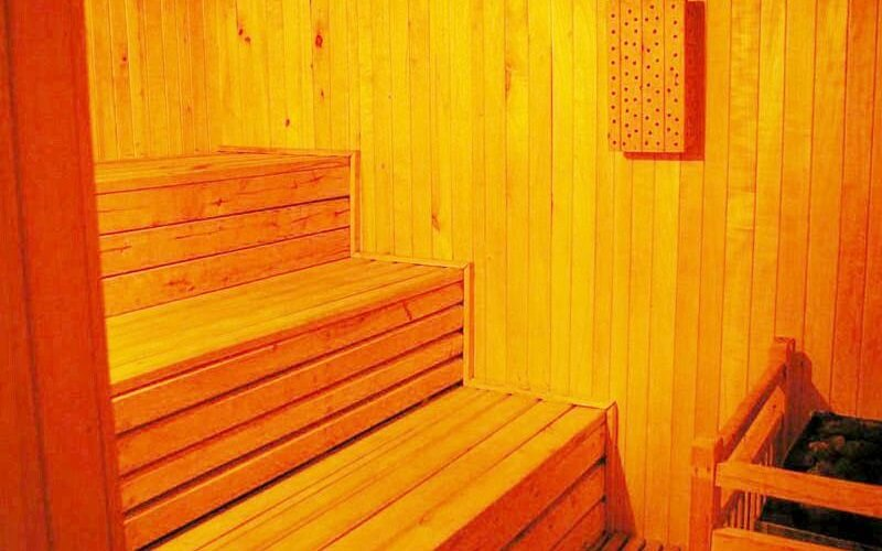 сауна в Ozon Hotel 2*, Гудаури, Грузия