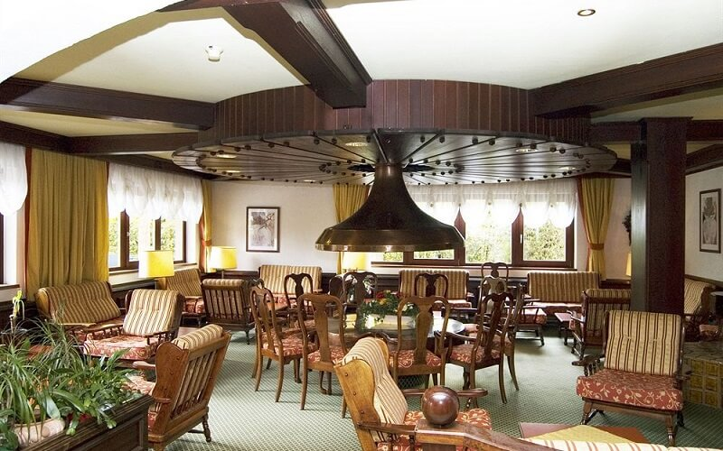 ресторан в отеле Kirchberg Parkhotel 3*, Кицбюэль, Австрия