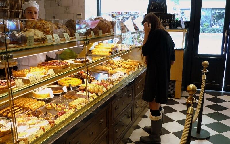 сладости в кафе Paul, Прага
