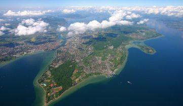 Полет над Боденским озером: самый короткий международный рейс продлится… 8 минут!