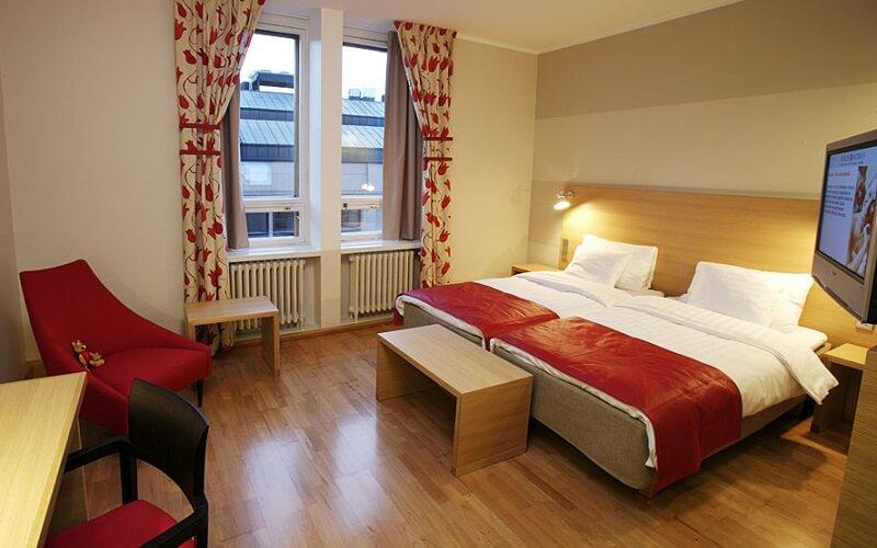 номер в отеле Sokos Helsinki 4*, Хельсинки, Финляндия