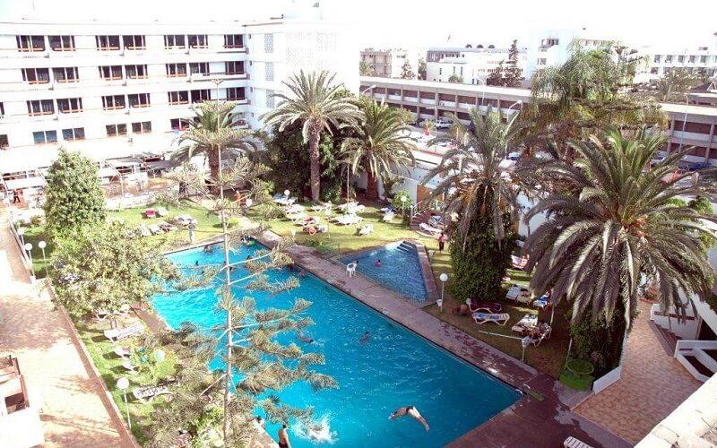 бассейн в Sud Bahia Hotel 3*, Марокко, Агадир