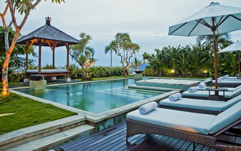 бассейн в отеле Segara Condotel 3*, Танджунг Беноа (о. Бали), Индонезия
