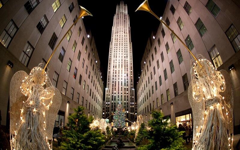 Рождество в Нью-Йорке, США