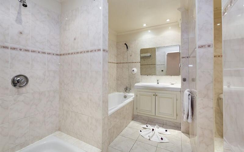 ванна кімната у готелі Blue Sea Le Tivoli 4*, Марокко, Агадір