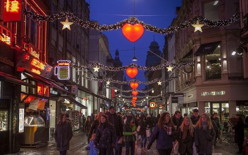 Рождество в Копенгагене, Дания