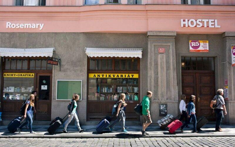 Hostel Rosemary в Праге