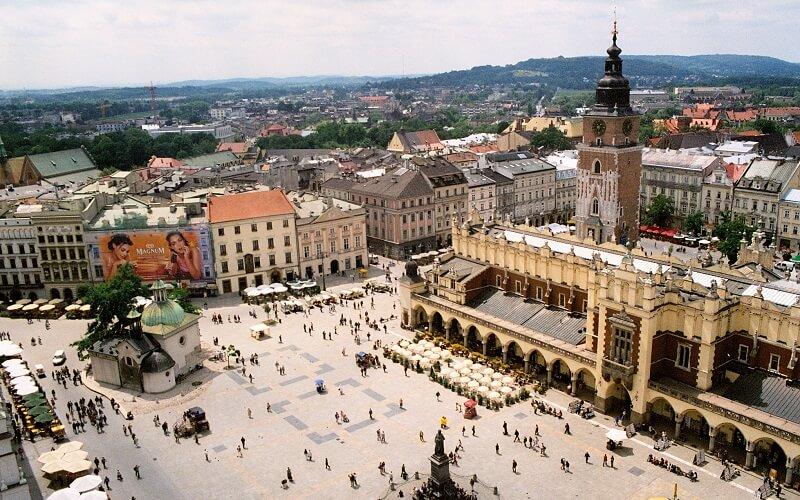 автобусный тур в Краков