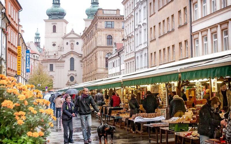 рынки в Праге
