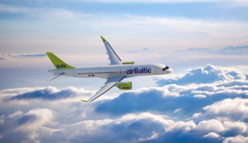 З березня 2017-го AirBaltic відновлює рейси Одеса-Рига