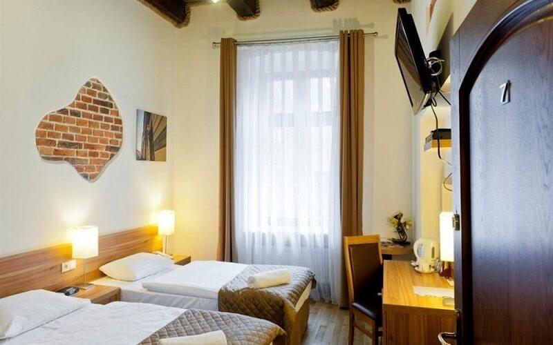 номер в готелі готелю Pergamin Apartments 3*, Польща (Краків)