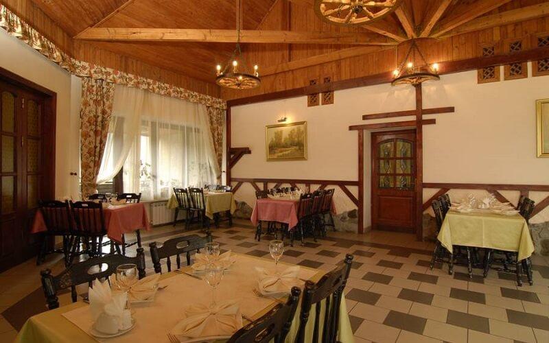 ресторан в отеле Перлина Карпат 3*, Славское (Карпаты), Украина