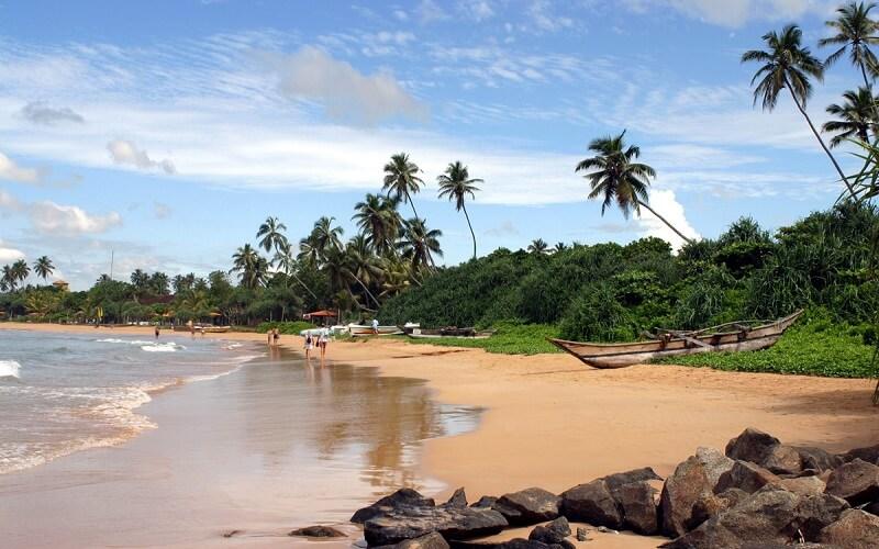 пляж Бентота, Шри-Ланка