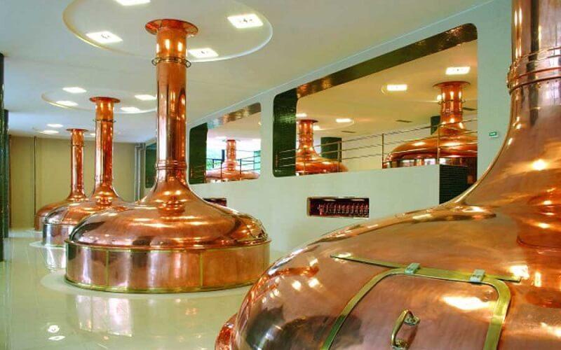 производство пива в Праге