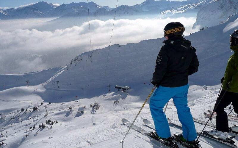 катание в Швейцарии
