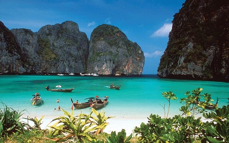 пляж Пхи-Пхи в Тайланде