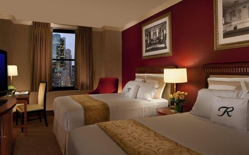 номер в Roosevelt Hotel 3*, Нью-Йорк (США)