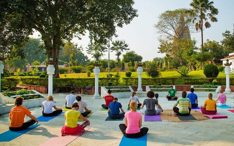 медитация в Индии