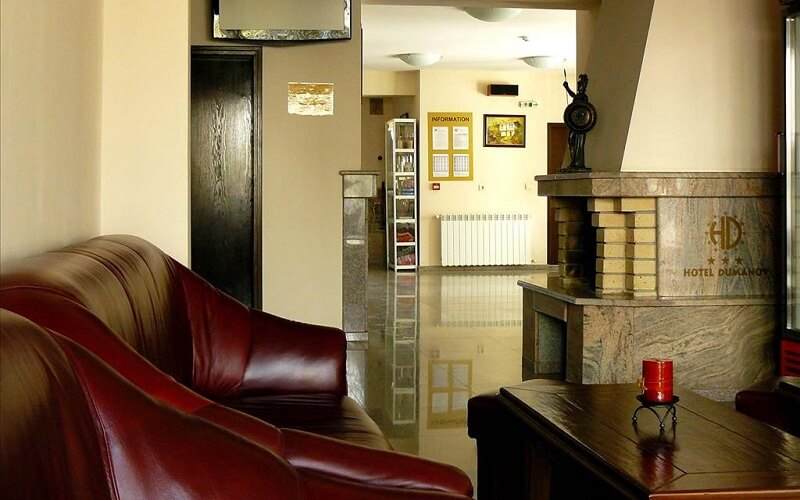 лобби в отеле Bariakov Hotel 3*, Банско, Болгария