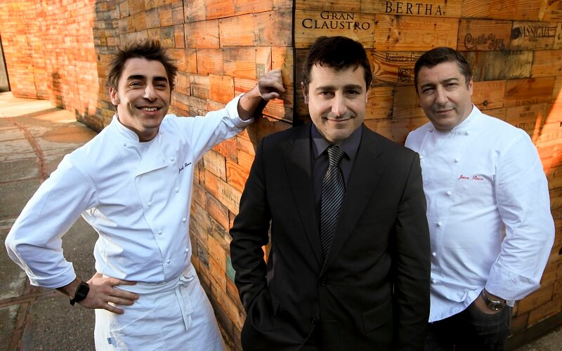 владельцы ресторана El Celler de Can Roca в Жироне, Испания