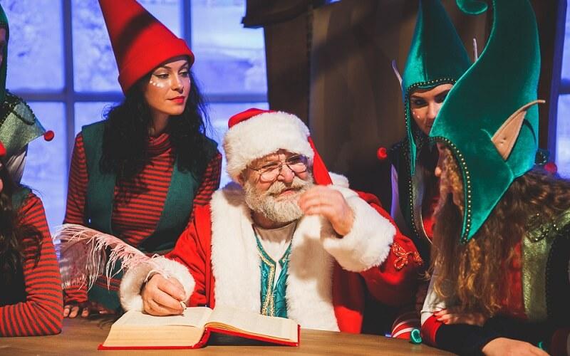 Дед Мороз на ВДНХ в Киеве