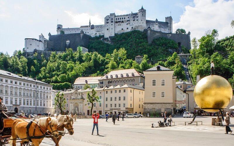 достопримечательности Зальцбурга в Австрии
