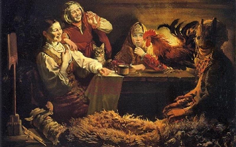 традиции святочных гаданий