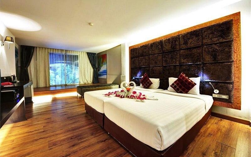 номер у готелі Splendid Resort Jomtien 3*, Паттайя, Таїланд
