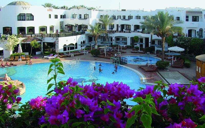 территория отеля Verginia Sharm Resort 4*, Египет, Шарм эль Шейх