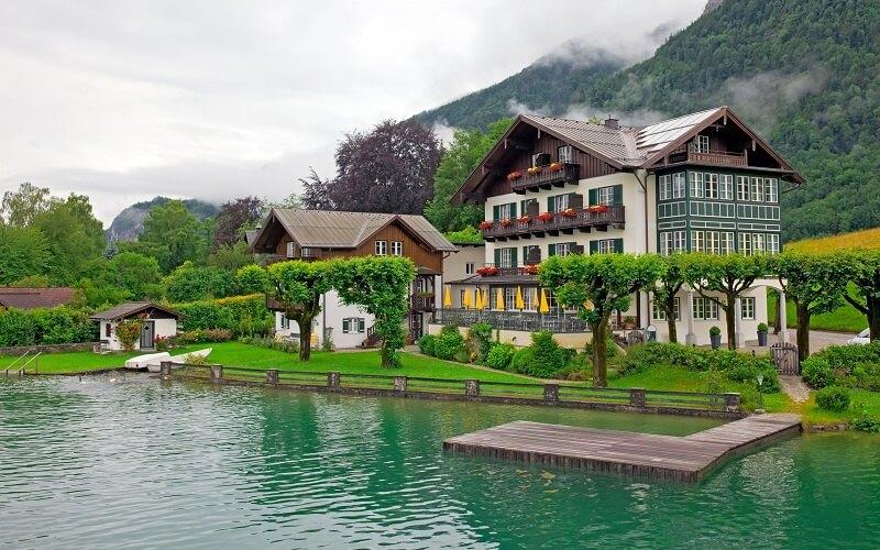 Река Инн в Австрии