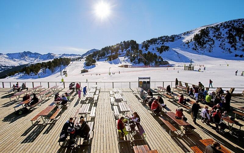 горнолыжный курорт Андорра